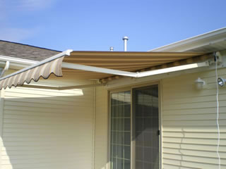 retractable awnings | Mid Michigan Upholstery
